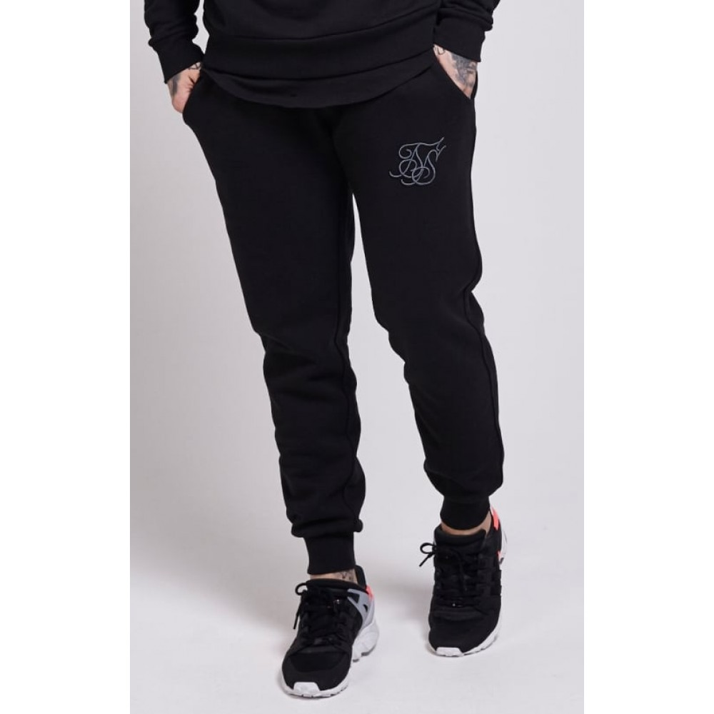 SikSilk Standard Jogger - Black
