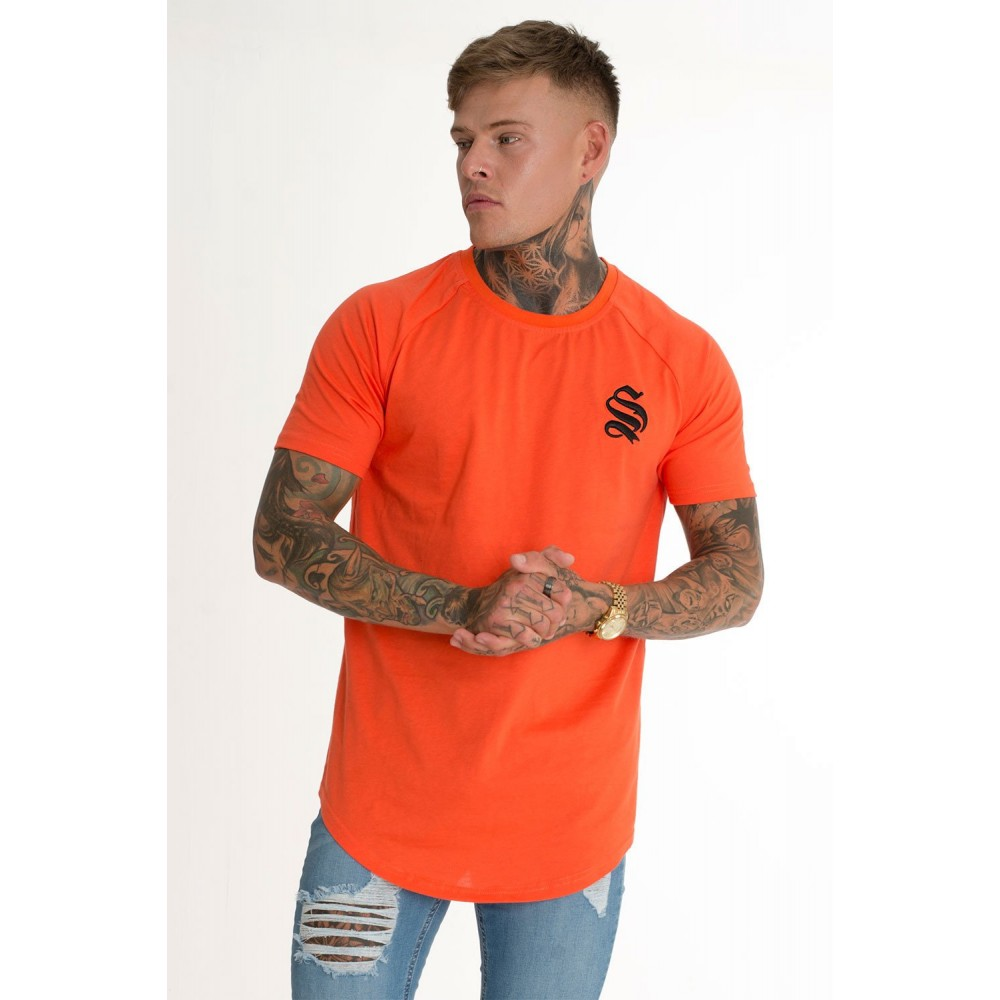 Sinners Attire Orange Core Tee - Coral
