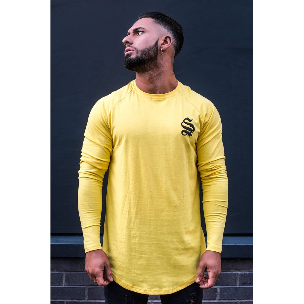 Sinners Attire Yellow Long Sleeve Core Tee