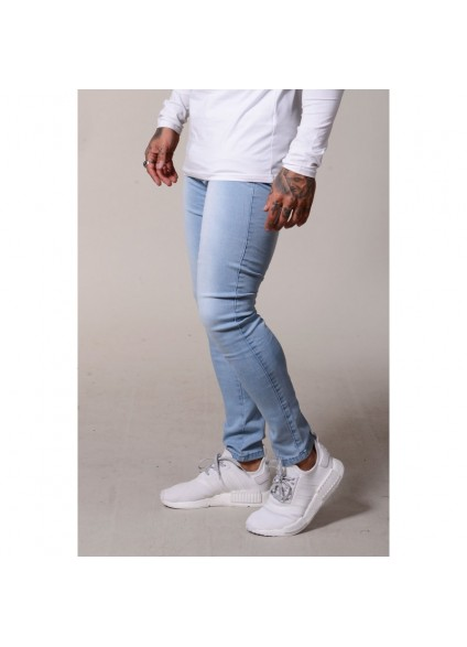 Sinners Attire Skinny Jeans - Light Blue
